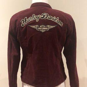 Ladies Harley-Davidson corduroy jacket size XS